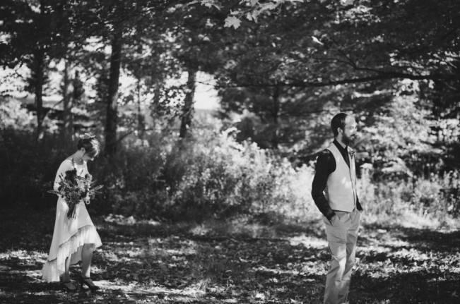 Folksy Supermoon Farm Wedding in Vermont 10