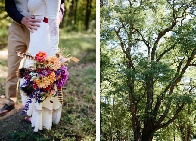 Folksy Supermoon Farm Wedding in Vermont 16