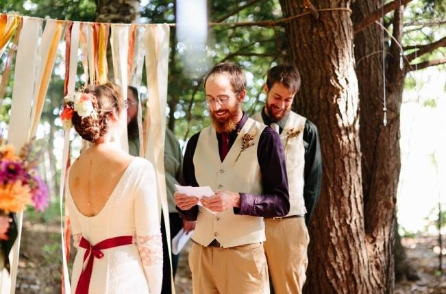 Folksy Supermoon Farm Wedding in Vermont 19