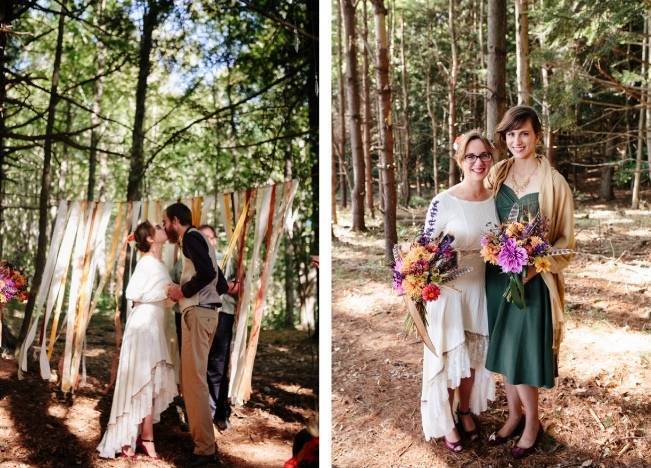 Folksy Supermoon Farm Wedding in Vermont 20