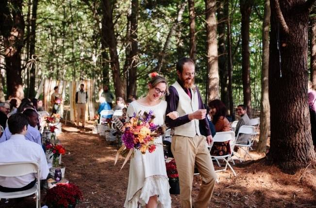 Folksy Supermoon Farm Wedding in Vermont 21
