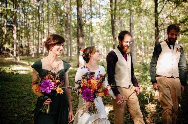 Folksy Supermoon Farm Wedding in Vermont 22