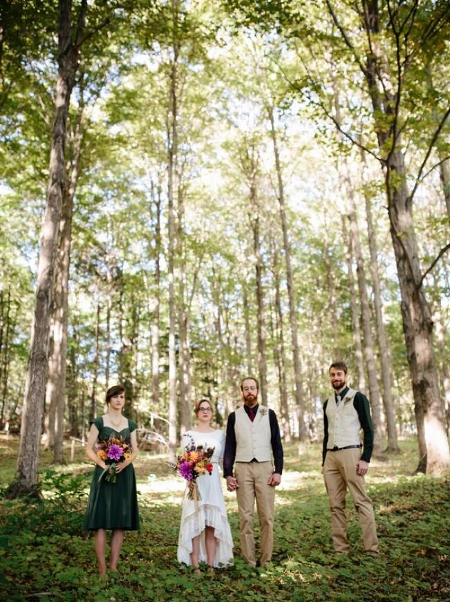 Folksy Supermoon Farm Wedding in Vermont 24