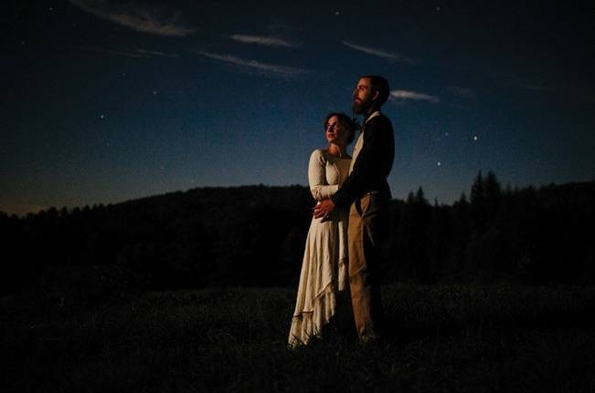 Folksy Supermoon Farm Wedding in Vermont 31