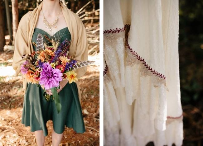 Folksy Supermoon Farm Wedding in Vermont 4