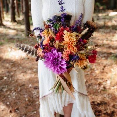 Folksy Supermoon Farm Wedding in Vermont