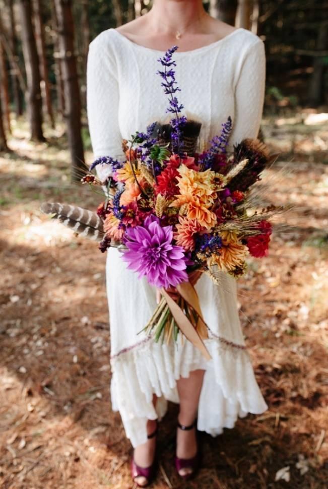 Folksy Supermoon Farm Wedding in Vermont 5