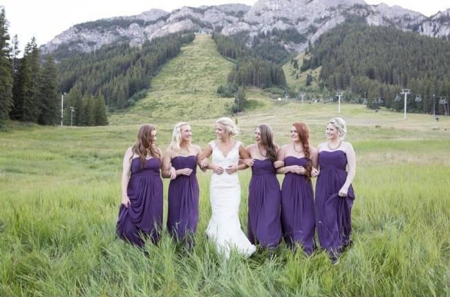 Plum & Nude Rustic Mountain Wedding – Melanie Bennett Photography 1