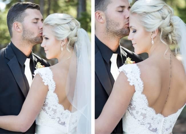 Plum & Nude Rustic Mountain Wedding - Melanie Bennett Photography 10