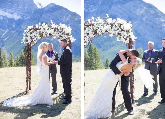 Plum & Nude Rustic Mountain Wedding – Melanie Bennett Photography 17