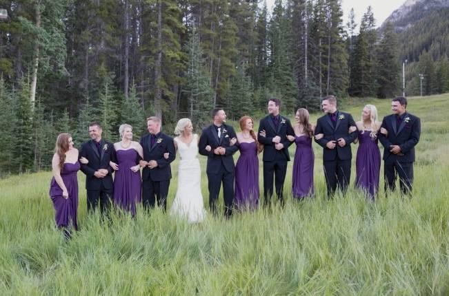 Plum & Nude Rustic Mountain Wedding – Melanie Bennett Photography 20
