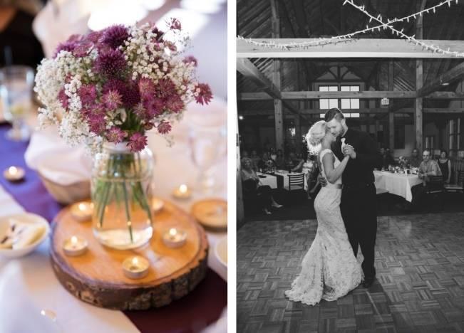 Plum & Nude Rustic Mountain Wedding – Melanie Bennett Photography 23