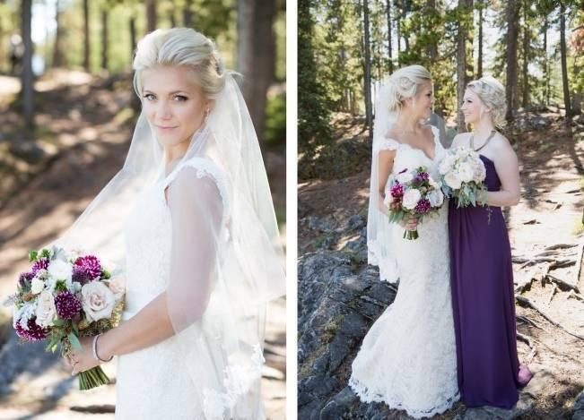 Plum & Nude Rustic Mountain Wedding – Melanie Bennett Photography 4