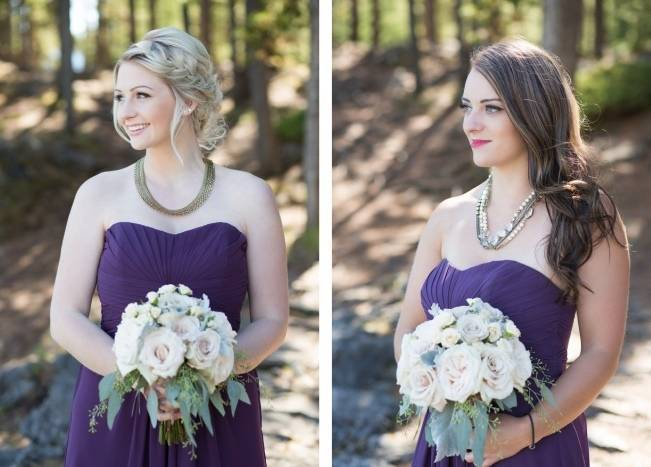Plum & Nude Rustic Mountain Wedding – Melanie Bennett Photography 6