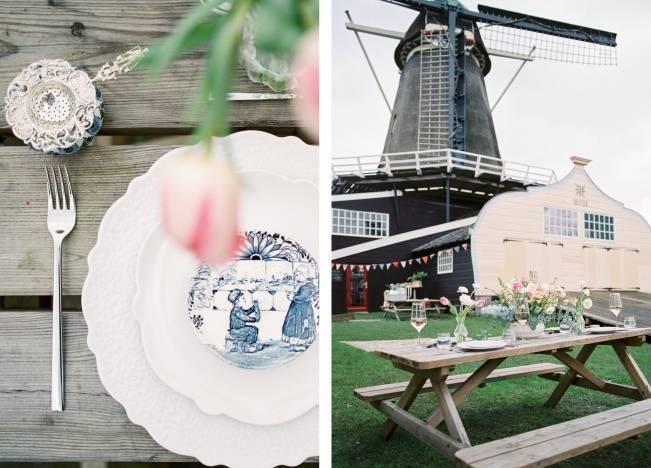 Rustic Dutch Windmill Wedding Styled Shoot 4