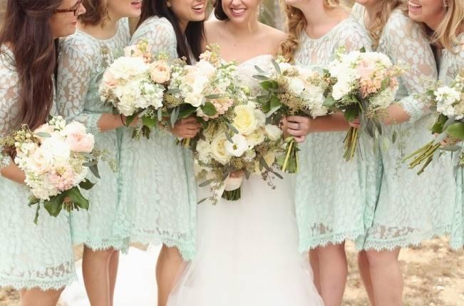 Rustic Mint + Taupe Alabama Barn Wedding 1