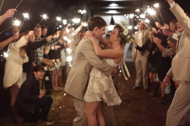 Rustic Mint + Taupe Alabama Barn Wedding 24