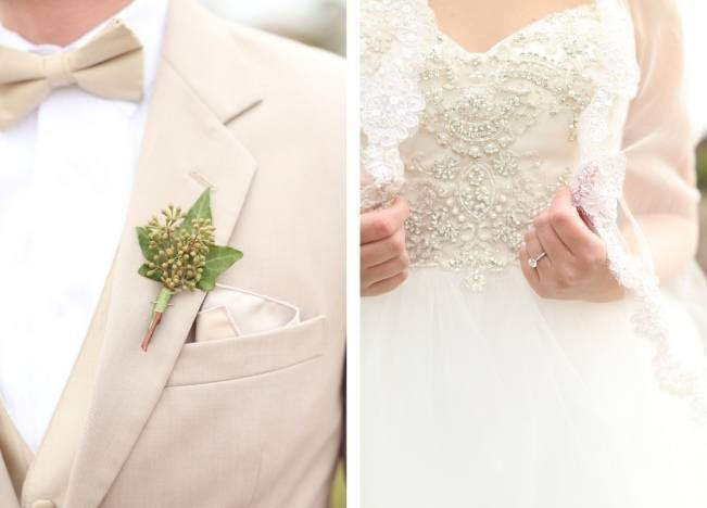 Rustic Mint + Taupe Alabama Barn Wedding 8