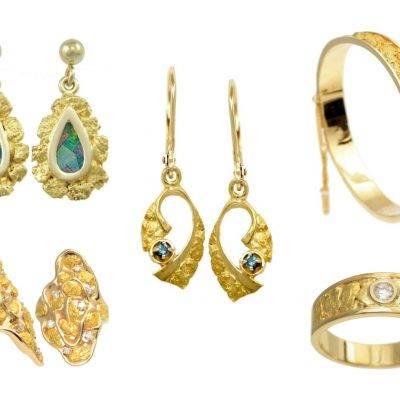 Spotlight: Rustic Wedding Jewelry from Alaska Jewelry