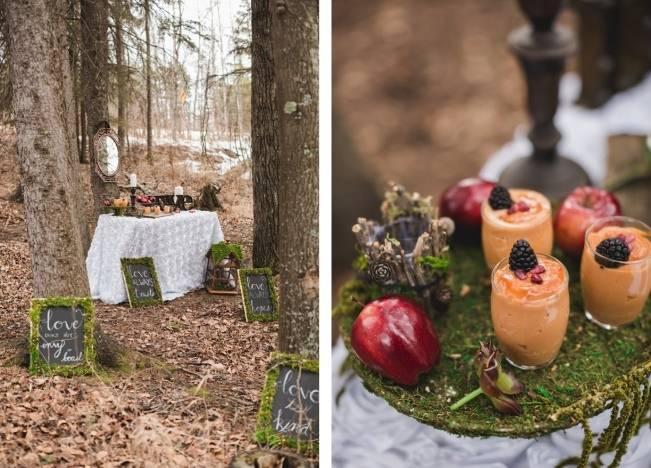 Snow White & The Huntsman Styled Wedding Shoot 10