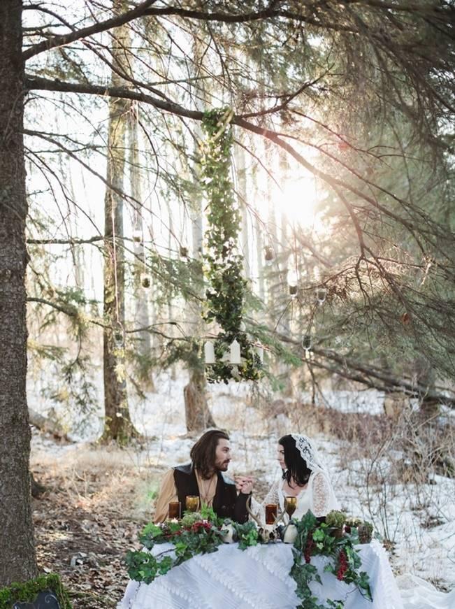Snow White & The Huntsman Styled Wedding Shoot 13