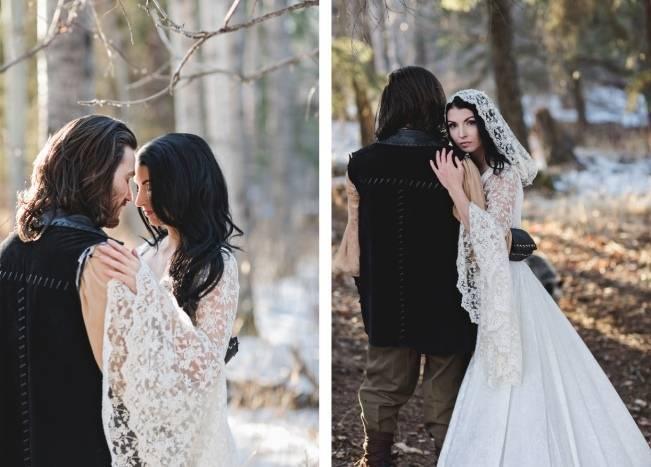 Snow White & The Huntsman Styled Wedding Shoot 4