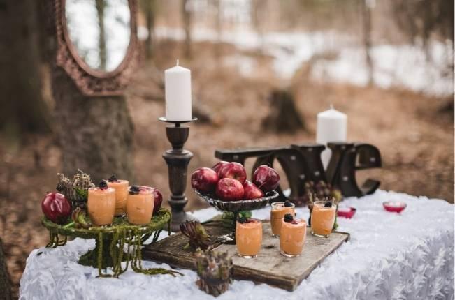 Snow White & The Huntsman Styled Wedding Shoot 8