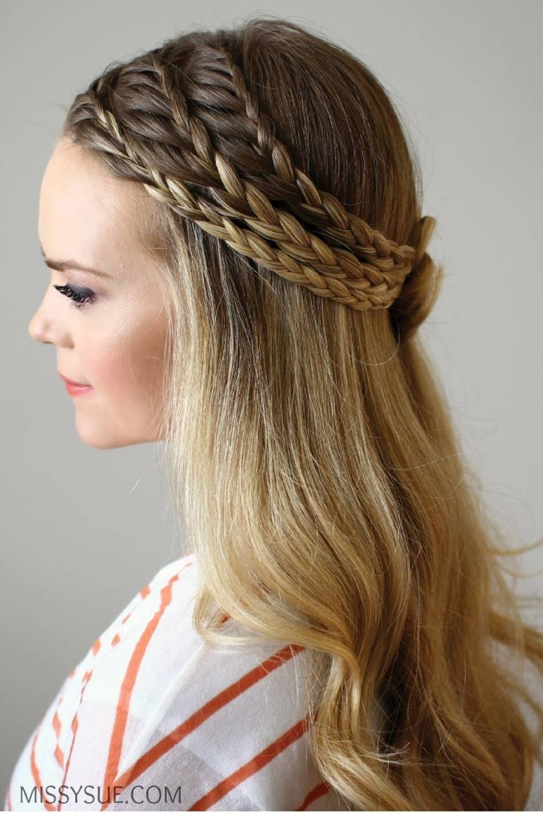 16 Braids To Inspire Your Bridal Hairstyle Sweet Violet