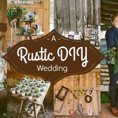 A Rustic DIY Wedding