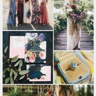 Wedding Inspiration Board #33: Boho Botanical