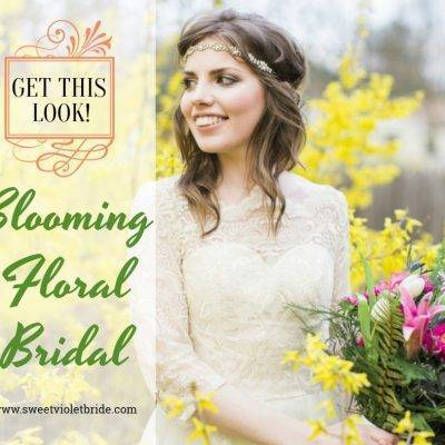 Get This Look: Blooming Floral Bridal