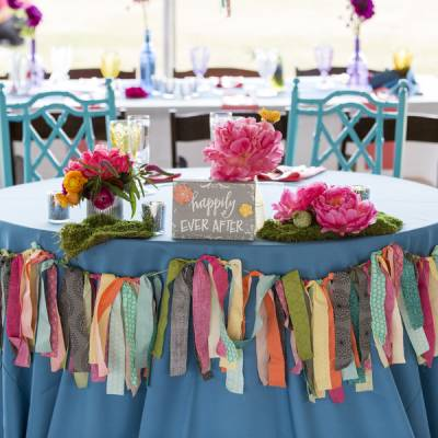 A Romantic and Eclectic Bohemian Wedding