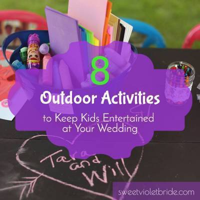 8 Outdoor Activities to Keep Kids Entertained at Your Wedding