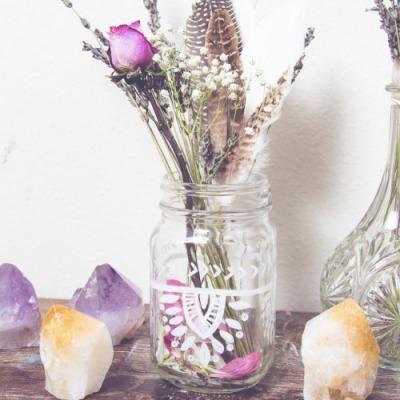 DIY Painted Jar Inspiration