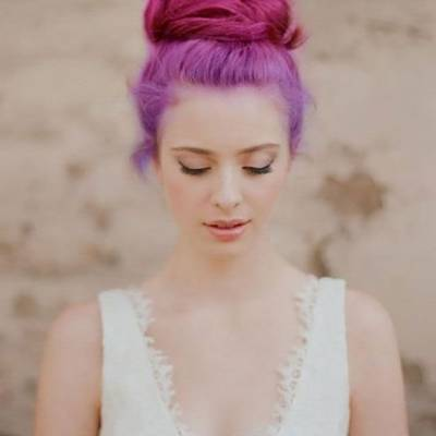 Wedding Day Hair Colors: Yes or No?