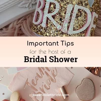 Important Tips for the Host of a Bridal Shower