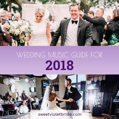 Wedding Music Guide for 2018