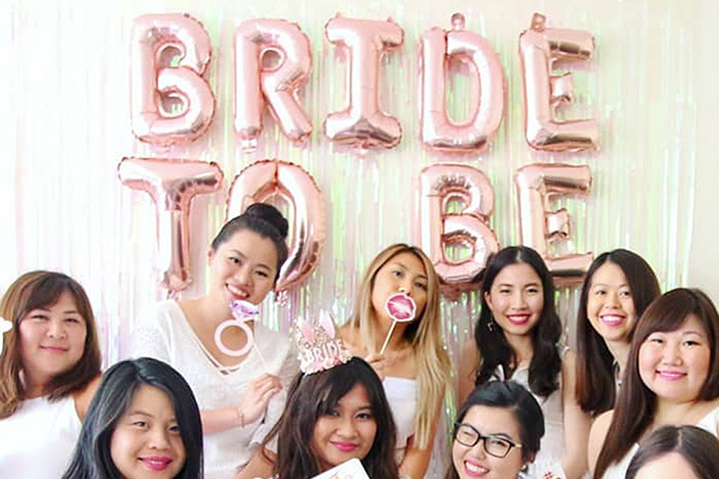 ongratters now youre in charge of hosting a bridal shower