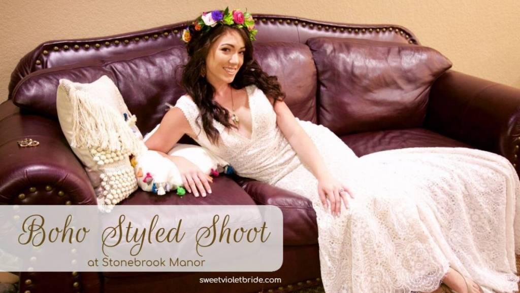 Boho Styled Shoot at Stonebrook Manor