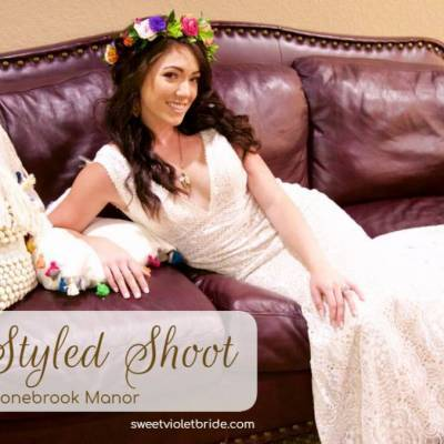 Boho Styled Shoot at Stonebrook Manor