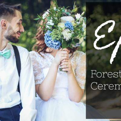 Epic Forest Wedding Ceremony Ideas