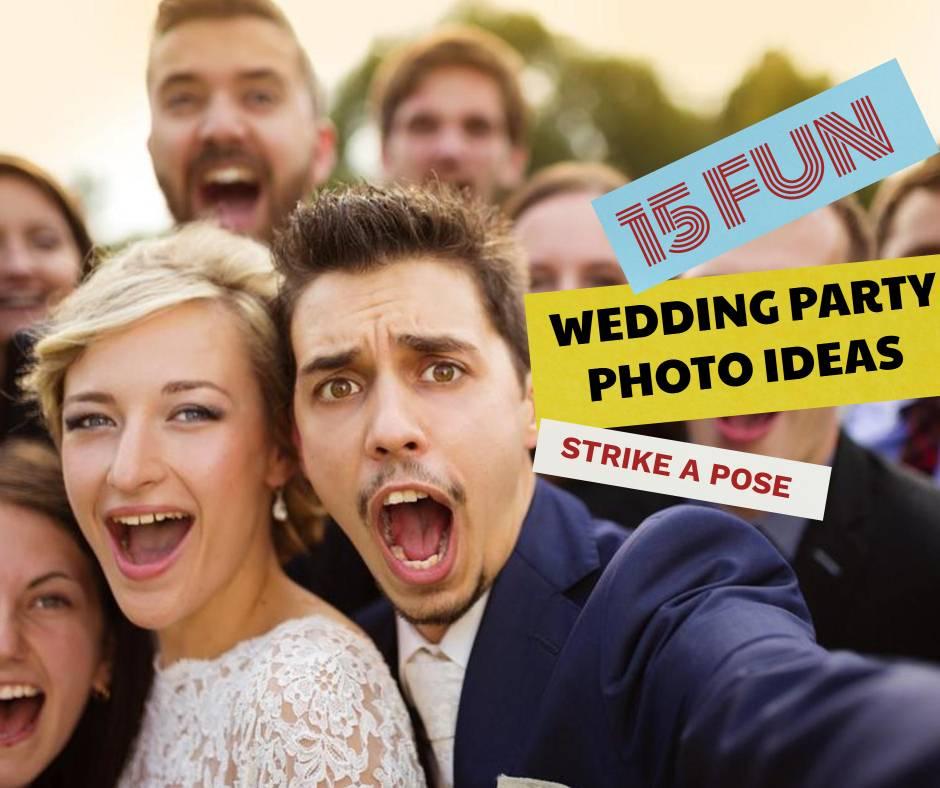 Strike A Pose 15 Fun Wedding Party Photo Ideas Sweet Violet Bride