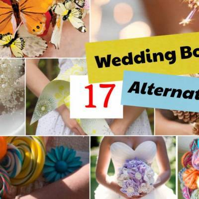 17 Unique Alternatives to the Traditional Wedding Bouquet