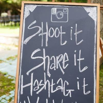Why Do I Need a Wedding Hashtag?