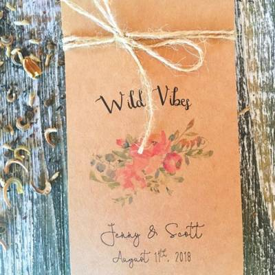 3 Wedding Favor Ideas for the Boho Bride