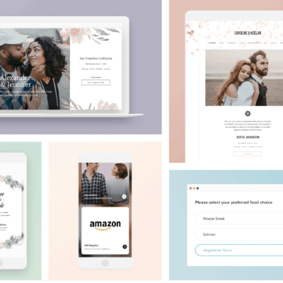 6 Important Components of Your Wedding Website
