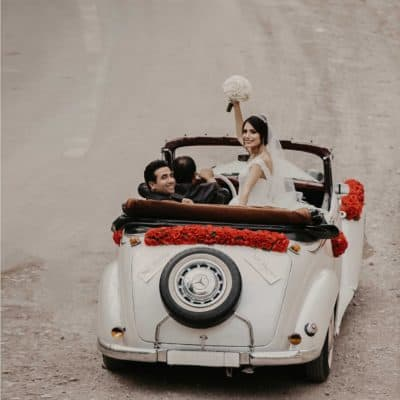 11 Ways to Creatively Decorate Your Wedding Getaway Car